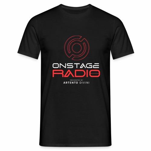 Onstage Radio T-shirt Rood - Men's T-Shirt