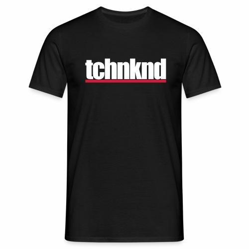 tchnknd minimal Technokind hard Rave Festivals DJs - Männer T-Shirt