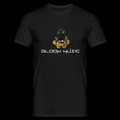 GLOOM MUSIC LOGO COLOR - Men's T-Shirt