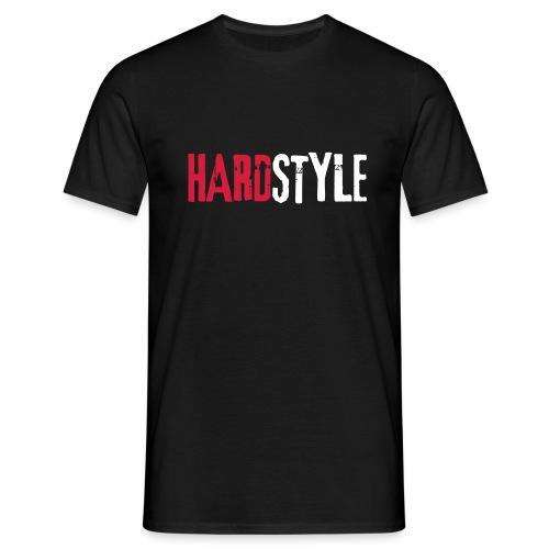 Hardstyle Schriftzug - Männer T-Shirt