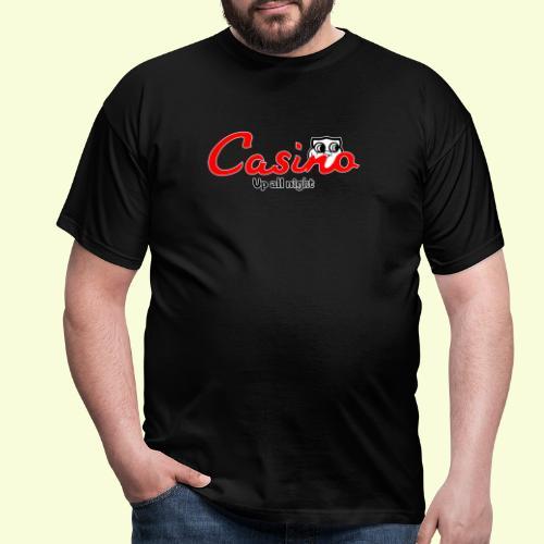 Casino up all night - Men's T-Shirt