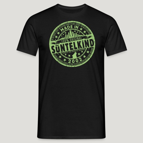 SÜNTELKIND 2002 - Das Süntel Shirt mit Süntelturm - Männer T-Shirt