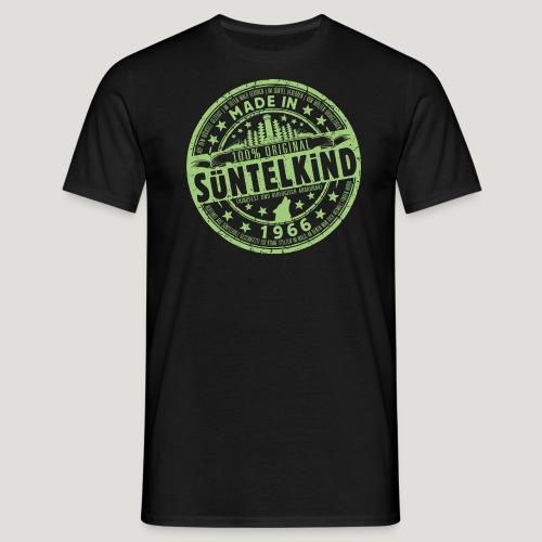 SÜNTELKIND 1966 - Das Süntel Shirt mit Süntelturm - Männer T-Shirt