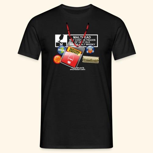 Whisky T Shirt Tasting Expert - Männer T-Shirt
