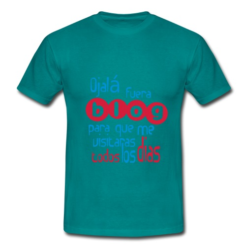 ojala2c - Camiseta hombre