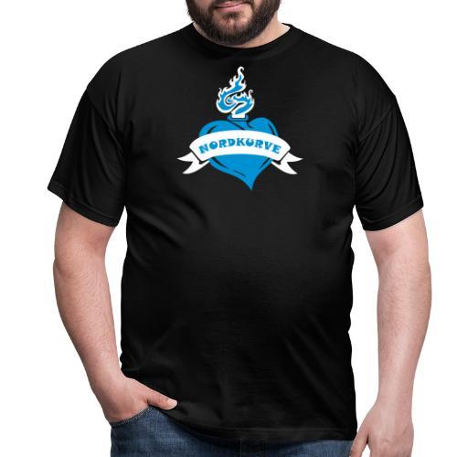 Nordkurve Herz - Männer T-Shirt