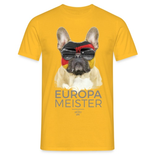 Europameister Deutschland - Männer T-Shirt