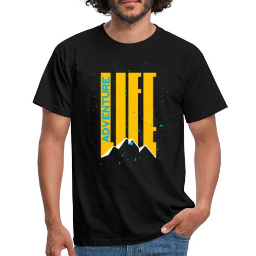 Adventure Life Wandern Klettern Mountain Outdoor - Männer T-Shirt