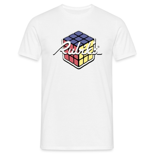 Rubik's Cube Retro Style - Men's T-Shirt