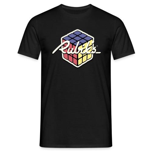 Rubik's Cube Retro Style - Men's T-Shirt