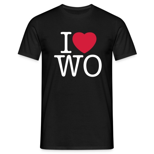 iloveworms reedit - Männer T-Shirt
