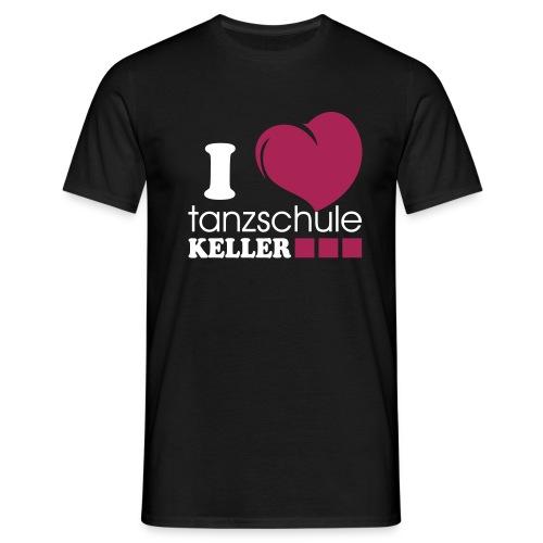 I love Tanzschule Keller - Männer T-Shirt