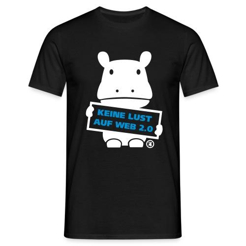 keine lust auf web 2.0 - Männer T-Shirt