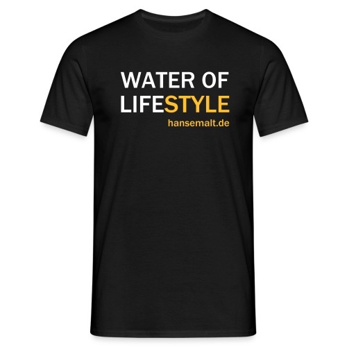water of lifestyle - Männer T-Shirt