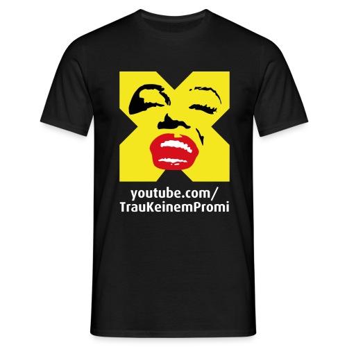 TrauKeinemPromi Shirt3 png - Männer T-Shirt