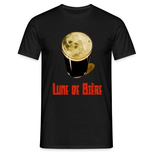 Logo Lune de Bière - T-shirt Homme