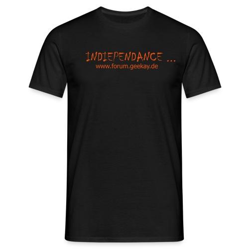 indiependance shirt 1 - Männer T-Shirt