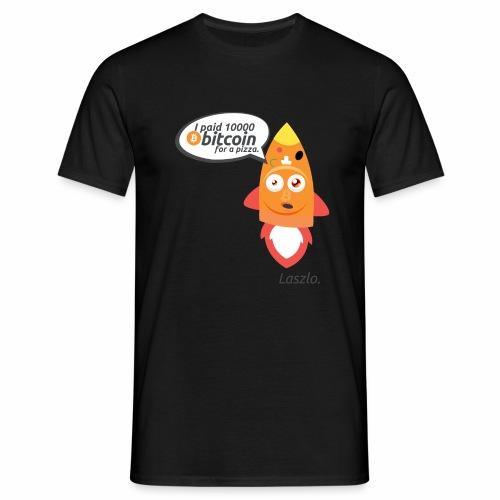#BitcoinPizzaDay slice - Maglietta da uomo