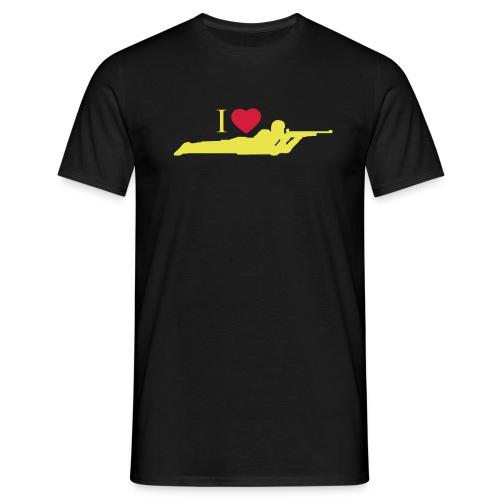I love prone - Men's T-Shirt