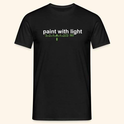 paint with light - Männer T-Shirt