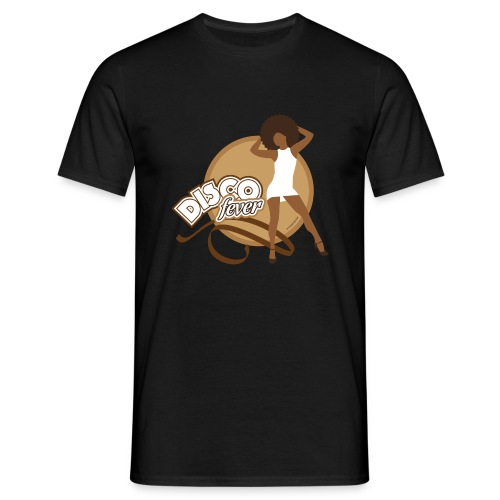 09-disco-fever-beige.png - T-shirt Homme