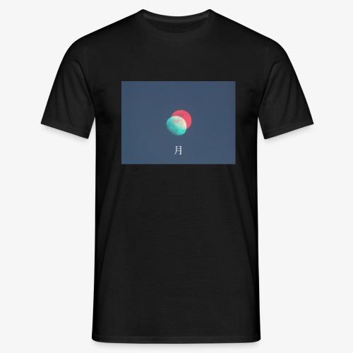 Moon glitch - Maglietta da uomo