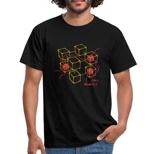 Connection Machine CM-1 Feynman t-shirt logo - Men's T-Shirt