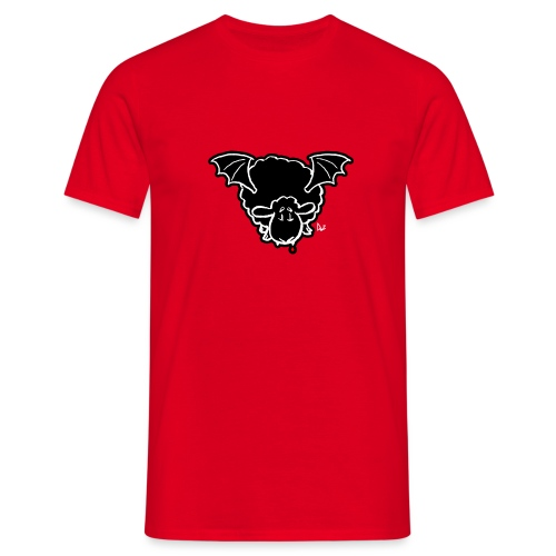 Vampire Sheep (white) - Men's T-Shirt