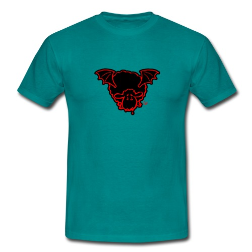 Vampire Sheep (red) - T-shirt Homme