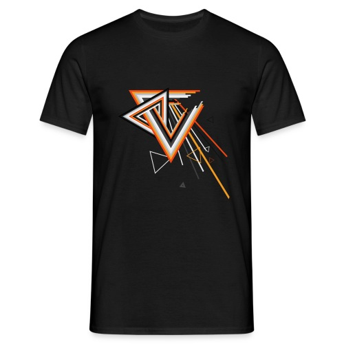 Triangle Abstract Geometry - Männer T-Shirt