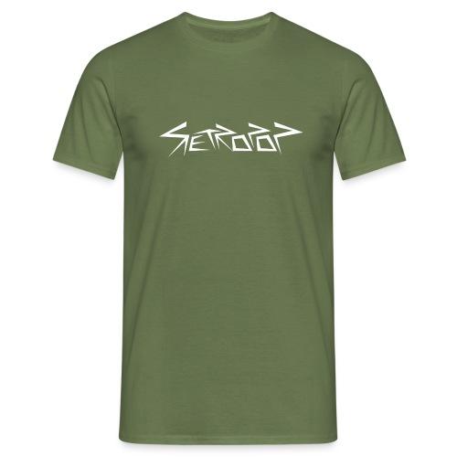 Retropop - Logo - Miesten t-paita