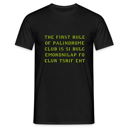 poke tee palindrome - Men's T-Shirt