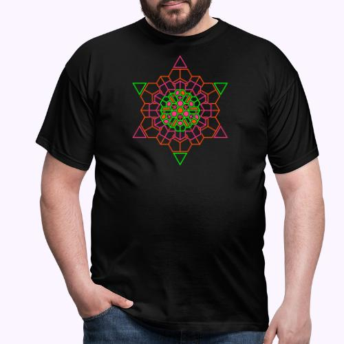 Cosmic Crystal Front - Camiseta hombre