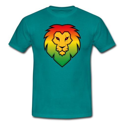 Ragga Lion - Men's T-Shirt