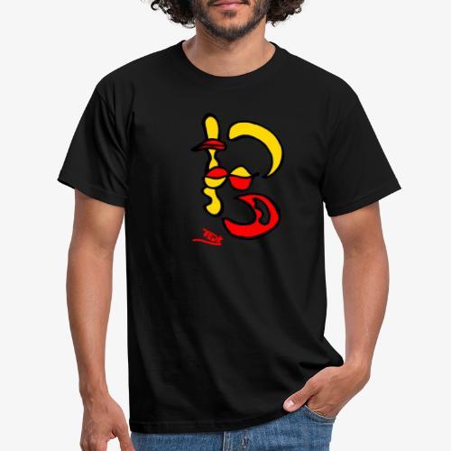 Moon-Zen - Men's T-Shirt