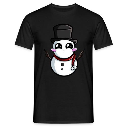 Kawaii Snowman ! - T-shirt Homme