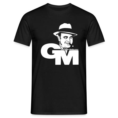 GMlogowhite Converted png - T-skjorte for menn