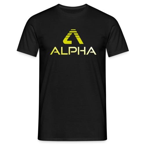 alpha trans png - Männer T-Shirt