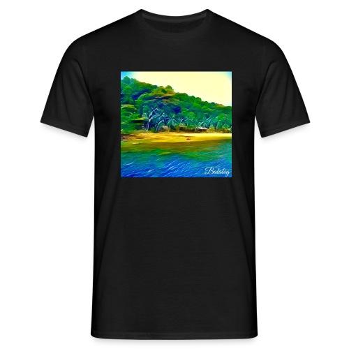 Tropical beach - Maglietta da uomo