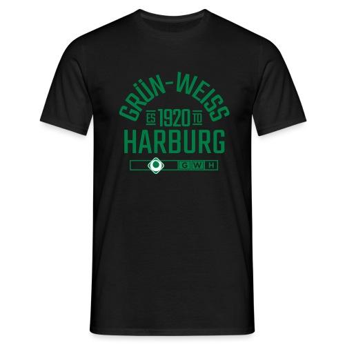 SV Grün-Weiss Harburg estd. - Männer T-Shirt