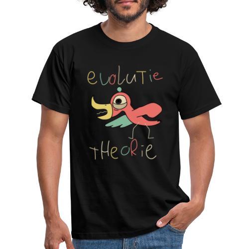 evolutietheorie black - Mannen T-shirt