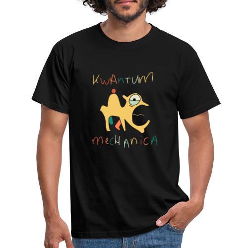 Kwantums Mechanica black - Mannen T-shirt