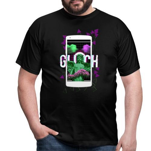 angel glitch - Camiseta hombre