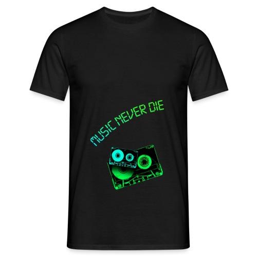MusicTapes - Männer T-Shirt