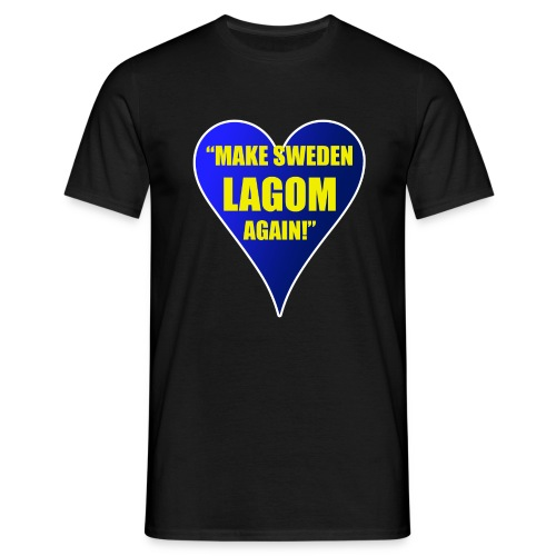 Make Sweden Lagom Again - T-shirt herr