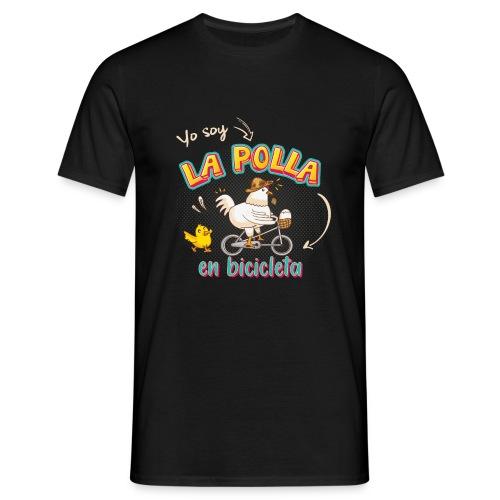 La Polla en Bicicleta - Camiseta hombre