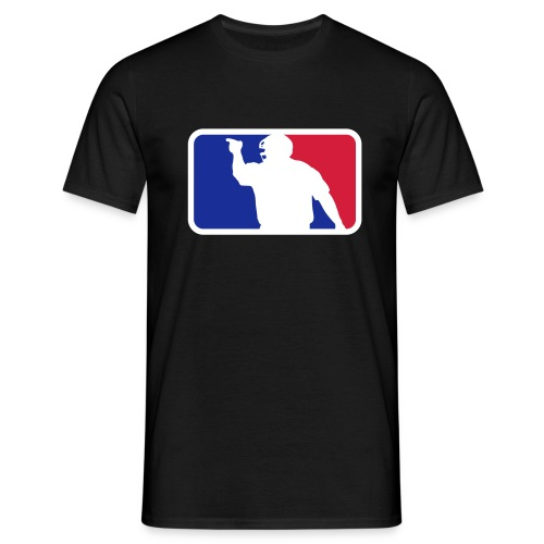 Baseball Umpire Logo - Men's T-Shirt