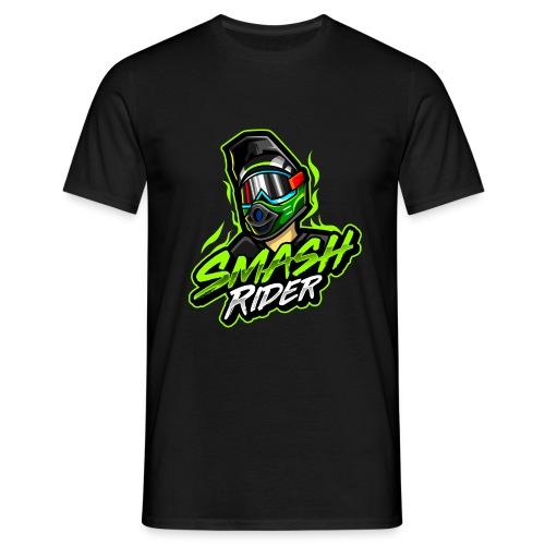 SmashRider Green - Maglietta da uomo