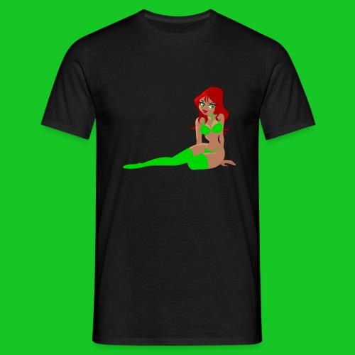 Pin up girl 4 - Mannen T-shirt
