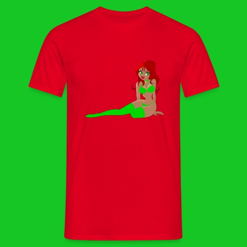 Pin up girl 4 - Mannen T-shirt